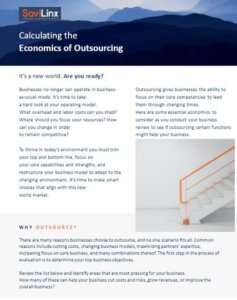 economics of outsourcing ebook